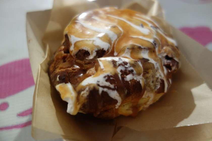 Salted Caramel Hot Chocolate Cream Puff from Puffs of Doom (still drooling)